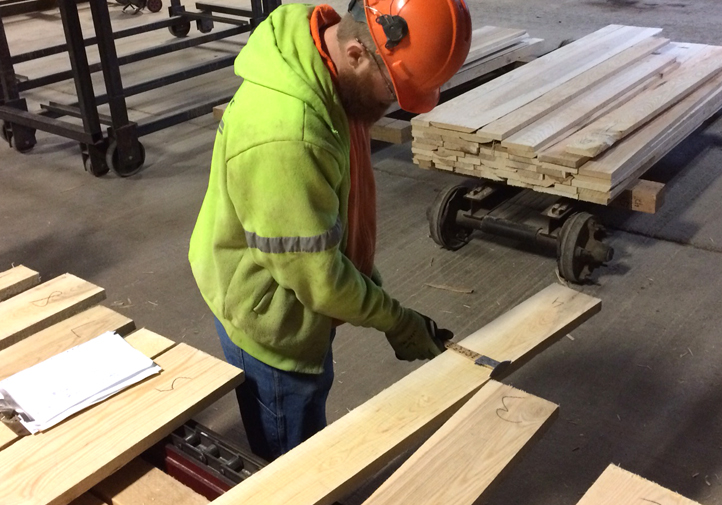 Do you grade lumber for an Active or Associate Member of the NHLA?